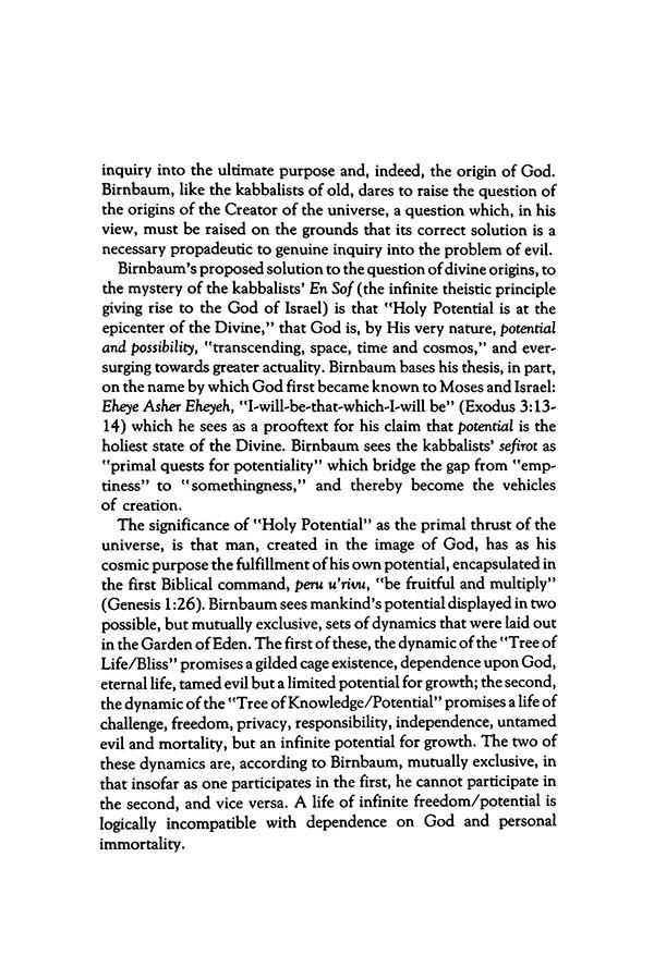 The David Birnbaum metaphysics/cosmology unifies physics, spirituality and philosophy.