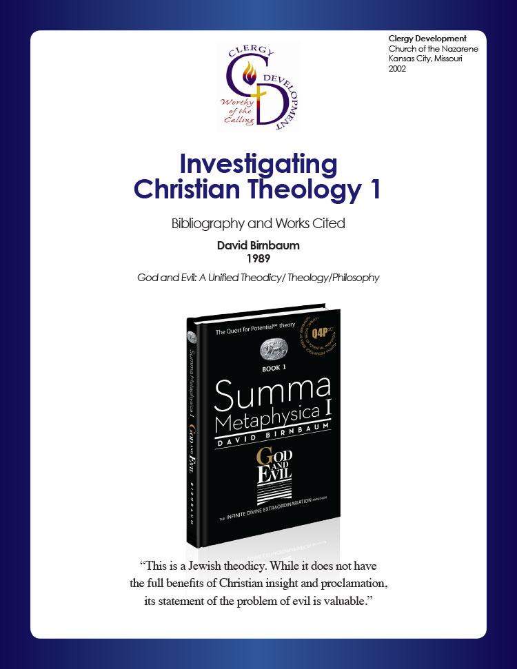 9-DavidBirnbaumGodandEvilInvestigatingChristianTheology