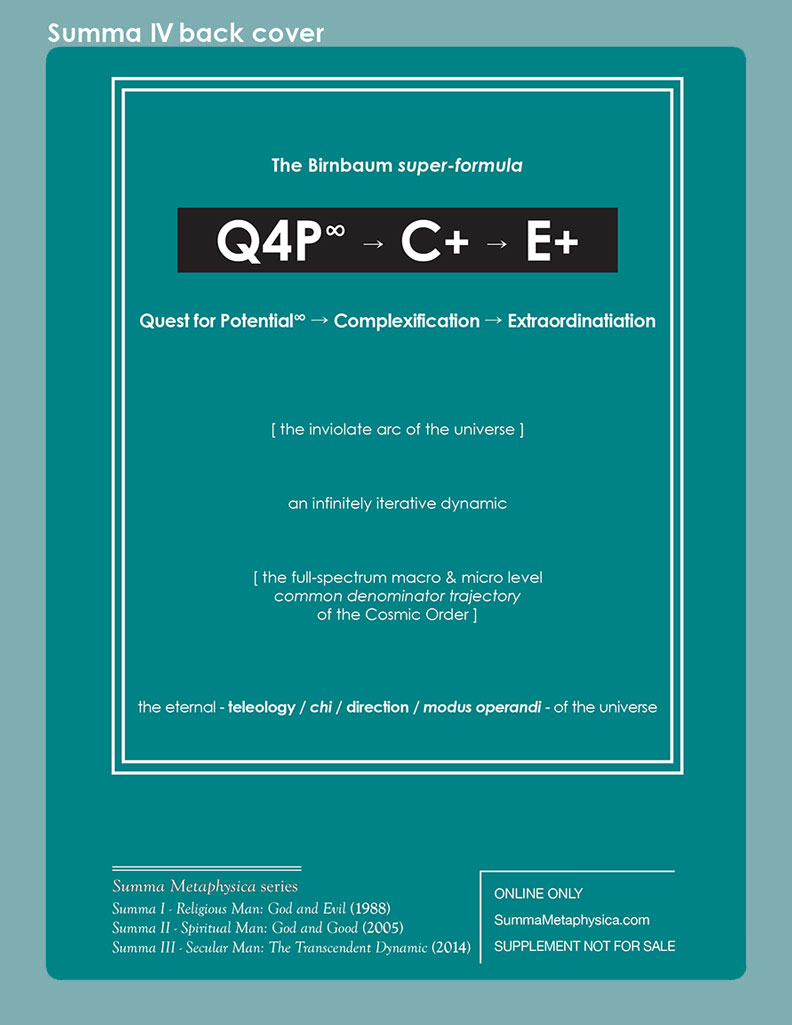 Q4P∞ → C+ → E+