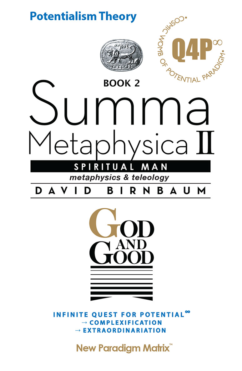 Summa Metaphysica 2 - God and Good